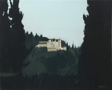 """""""la casa de los sultanes""""40x50cm, Oil/Canvas"""