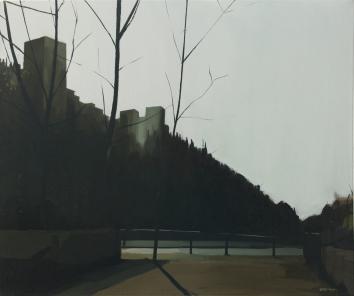 """Paseando por Granada"" 50x60cm, Oil/ Canvas"